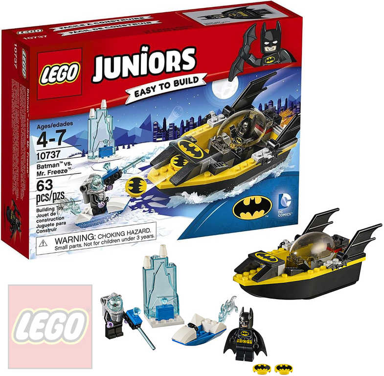 LEGO JUNIORS Batman vs. Mr. Freeze STAVEBNICE 10737