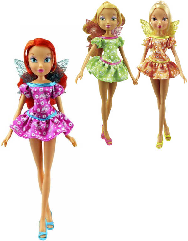 Winx: Flower Party 3 druhy 28cm
