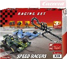 CARRERA Autodráha 1:43 Carrera GO Speed Racers 6,8m 2x looping set se 2 auty