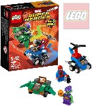 LEGO SUPER HEROES Spiderman vs. Green Goblin 76064 STAVEBNICE
