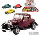 KINSMART Auto model 1:34 FORD 3 WINDOW COUPE kov PB 13cm 4 barvy
