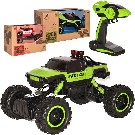 RC Auto 1:14 Rock Buggy 33cm green monster 2.4GHz 4x4 offroad na vysílačku