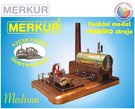 MERKUR Parní stroj Medium model