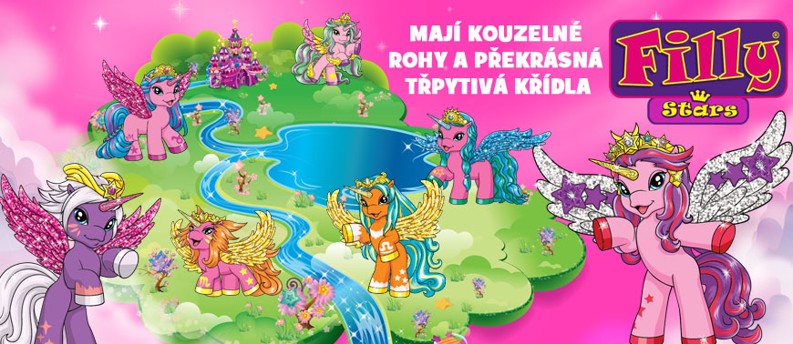 Filly koníčci